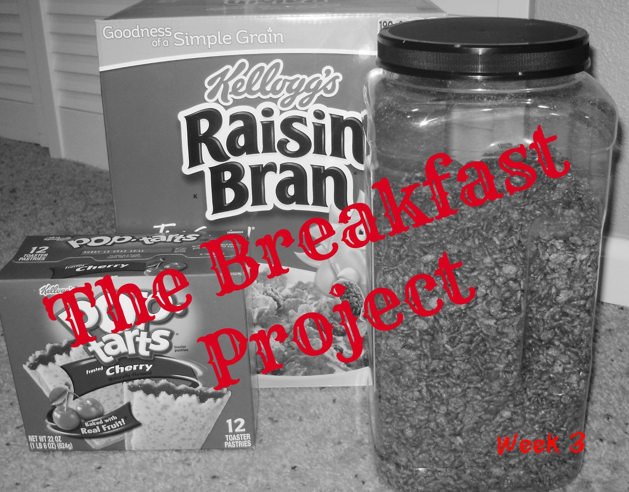 The Breakfast Project:  Week 3
