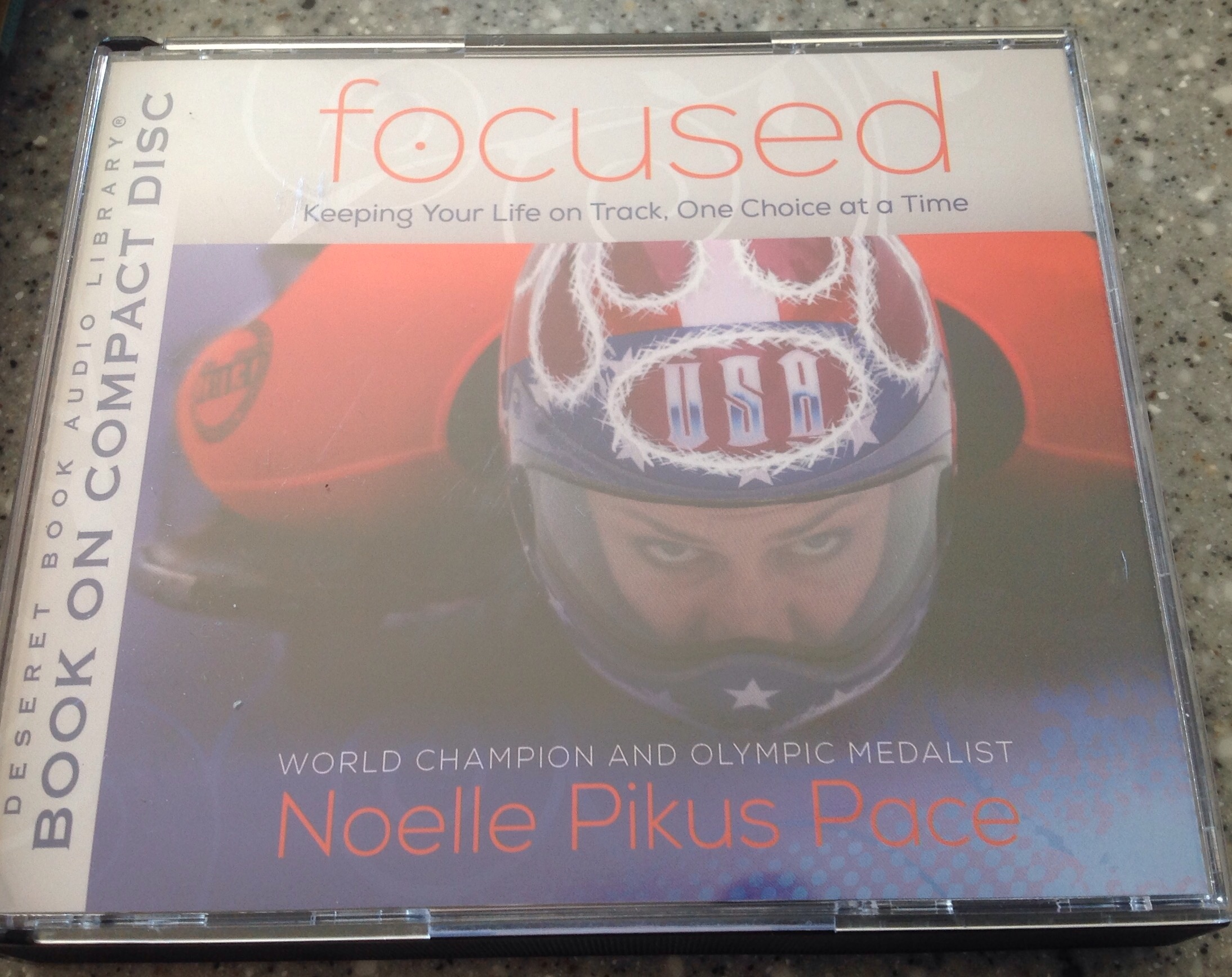 What we're reading/listening to:  Focused by Noelle Pikus Pace