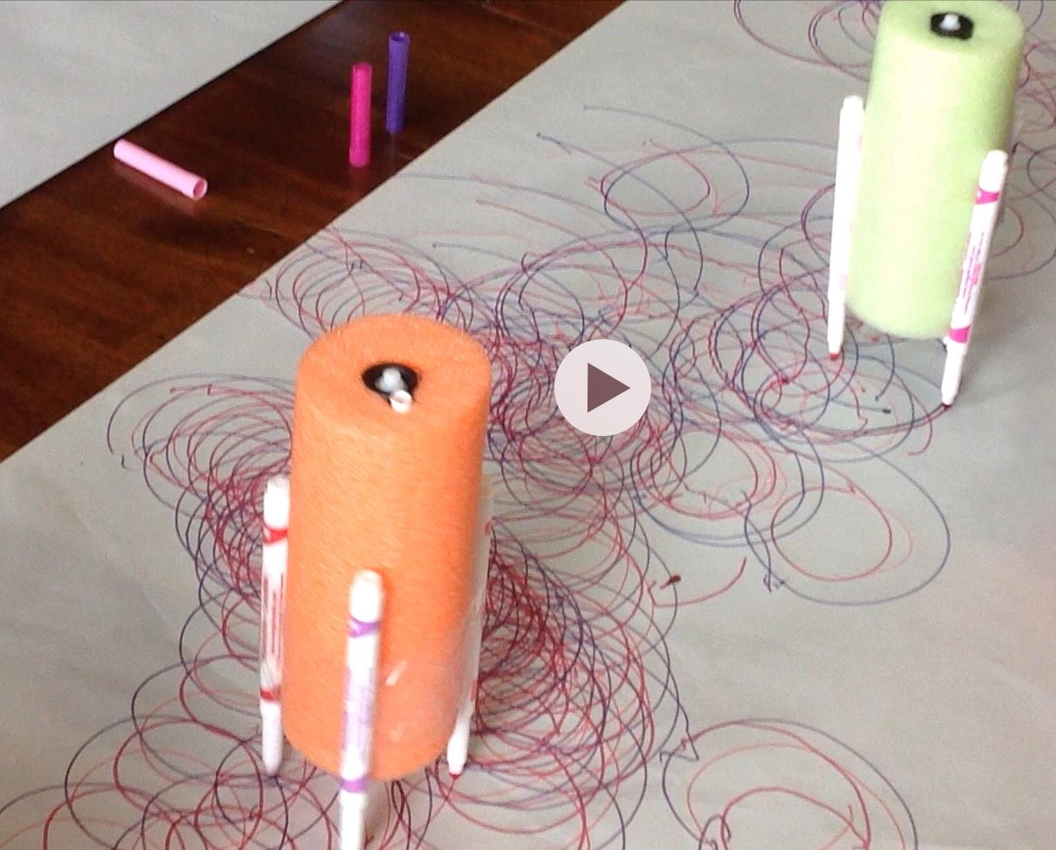DIY Art Robot – fun activity for the kids