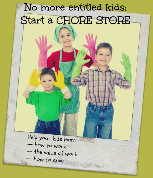 Chore Store: reward system for kid chores