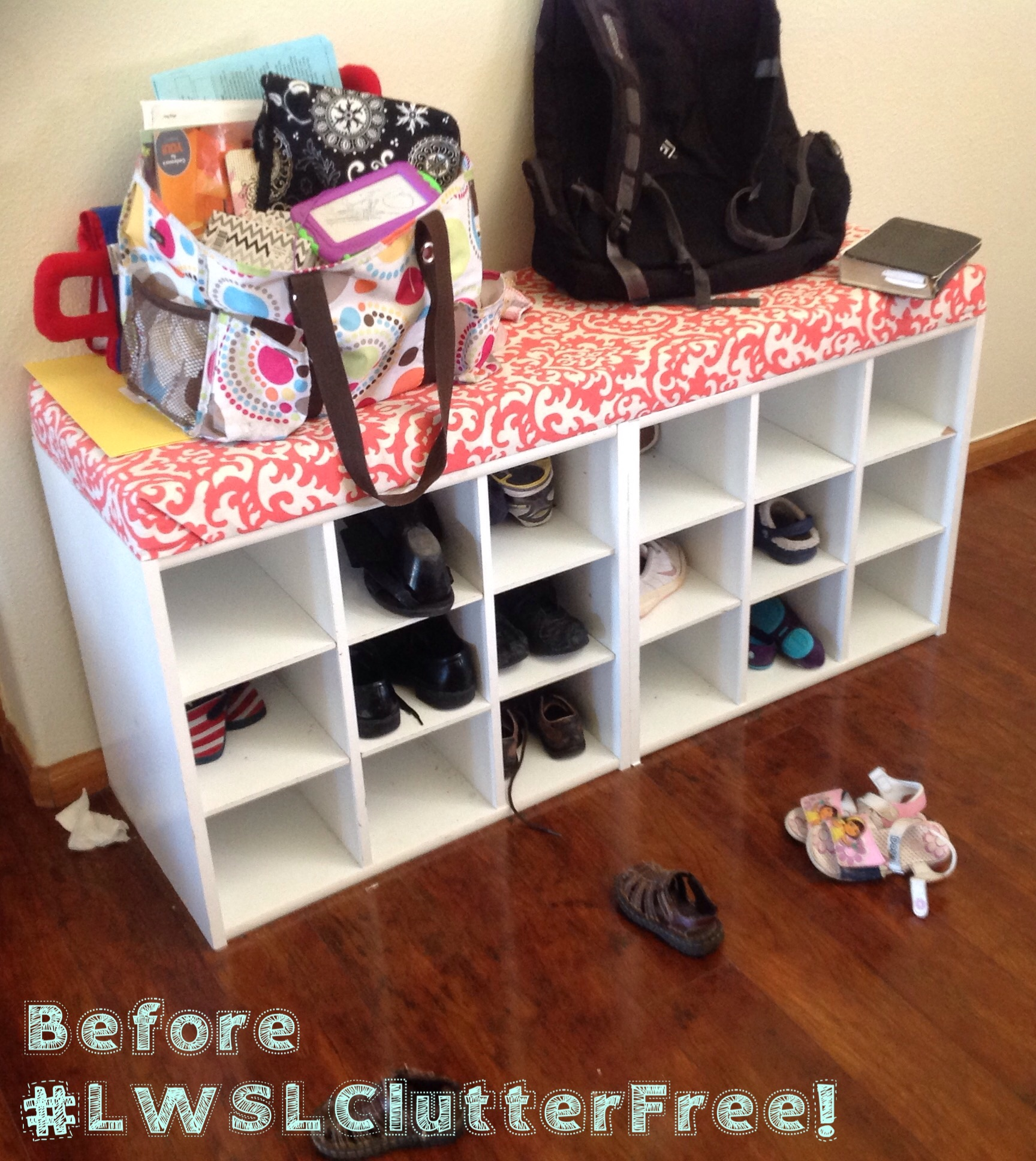 Clutter Free Challenge:  Day 2