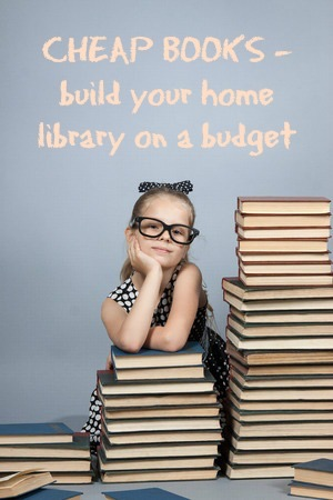 Cheap Books – building your home library on a budget
