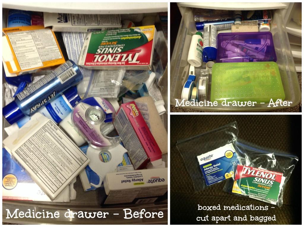 "medicine ""cabinet"" organization"
