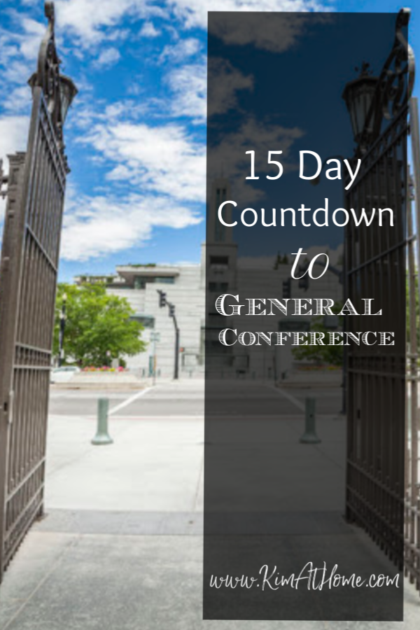 General Conference Countdown