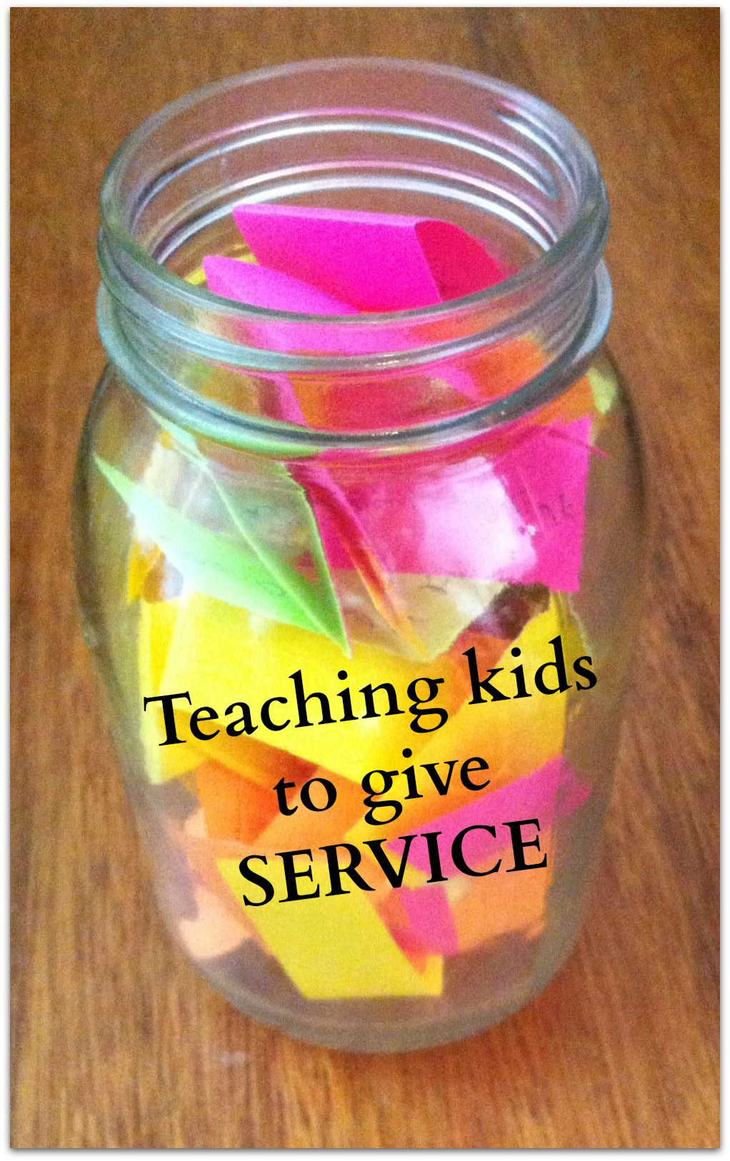 FHE: Teaching Kids to Give Service