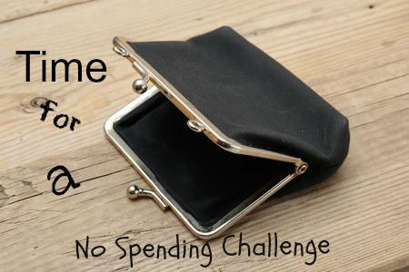 no spending challenge
