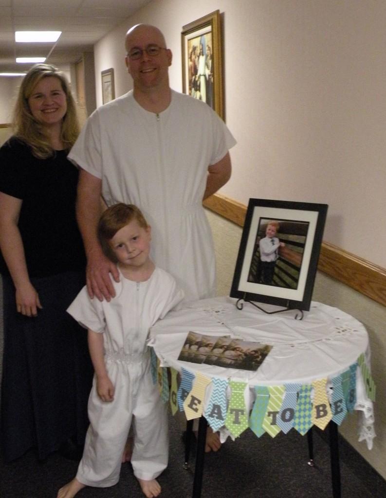 Chase baptism