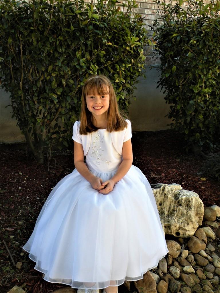 Evie's baptism