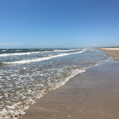 Family Travel:  Malaquite Beach, Corpus Christi, Texas