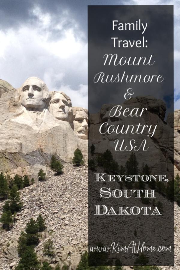 Family trip to Mount Rushmore