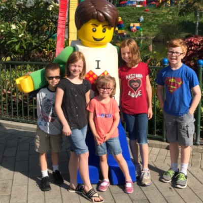 Family Travel:  Legoland California