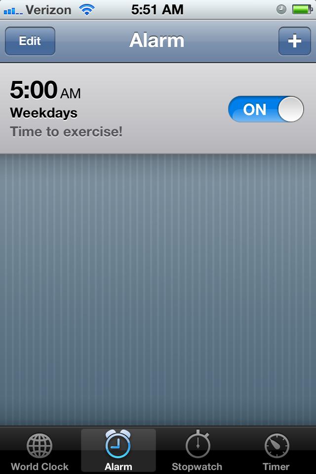 Why I love 5:00 A.M.