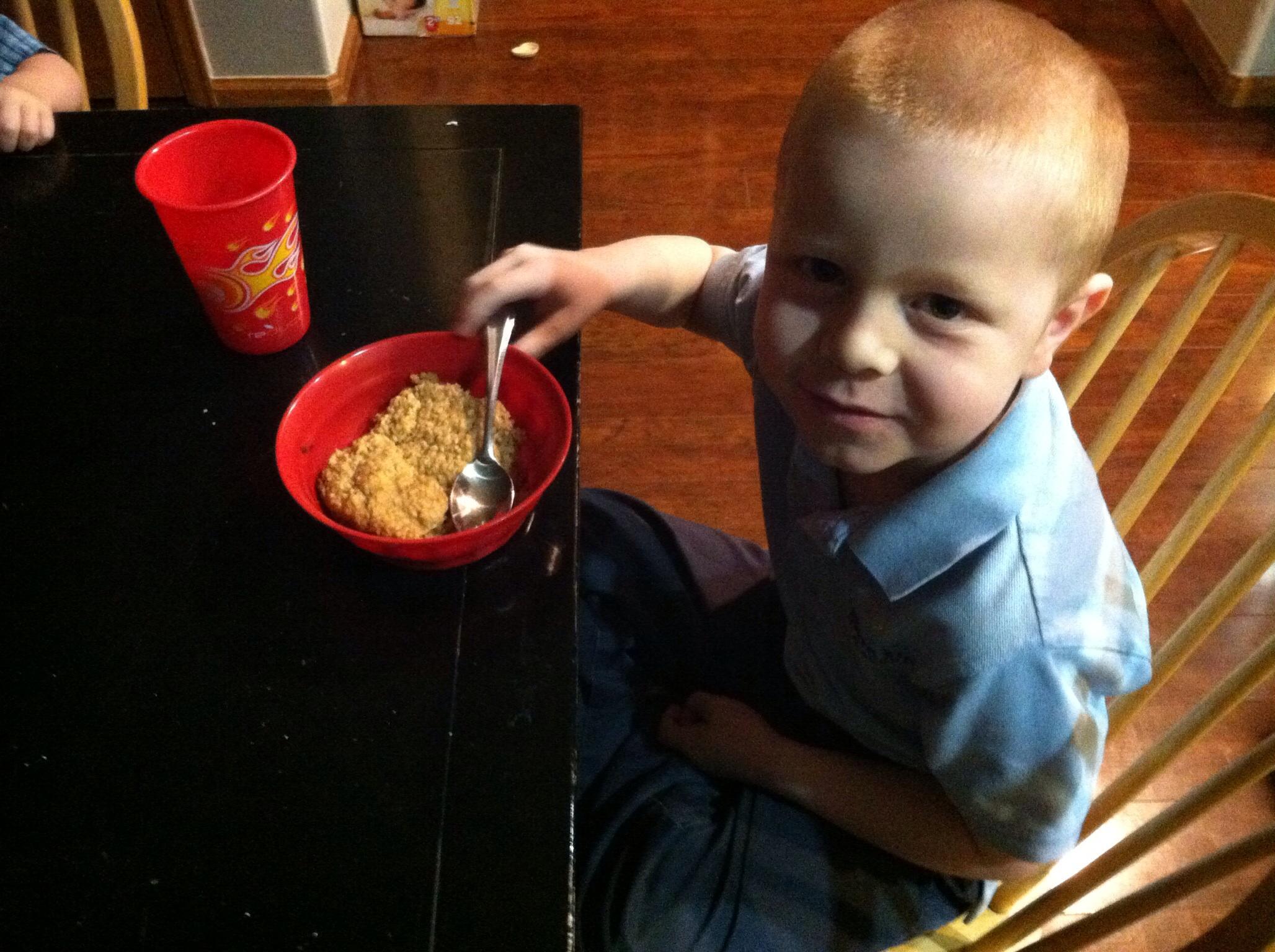 Oatmeal for Someone Who Doesn't Like Oatmeal!