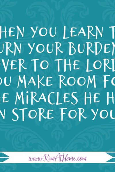 Learning to Trust the Lord